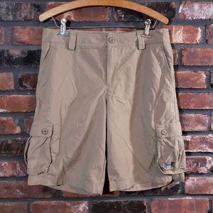 Under Armour YXL Khaki Cargo Loose Fit Golf Shorts